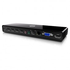 HP 2005pr USB 2.0 Port Replicator, 681279-001